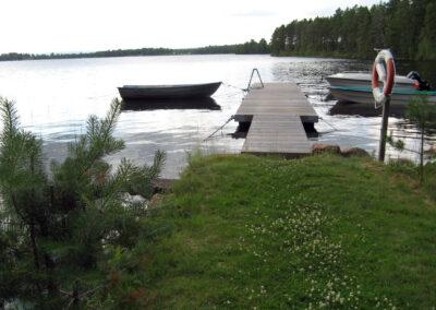 Första bryggan på Kvarnvägen